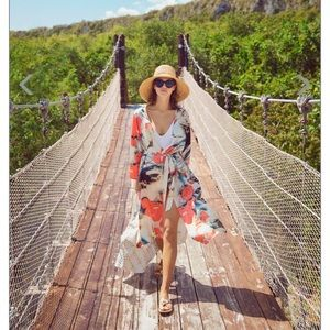 Other - Everything But Water Swim Coverup Kimono